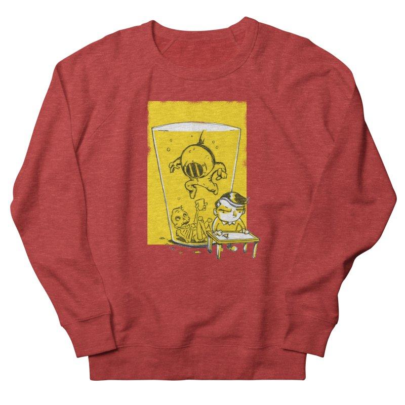Beer Diver Men's Sweatshirt by Chris Williams' Artist Shop
