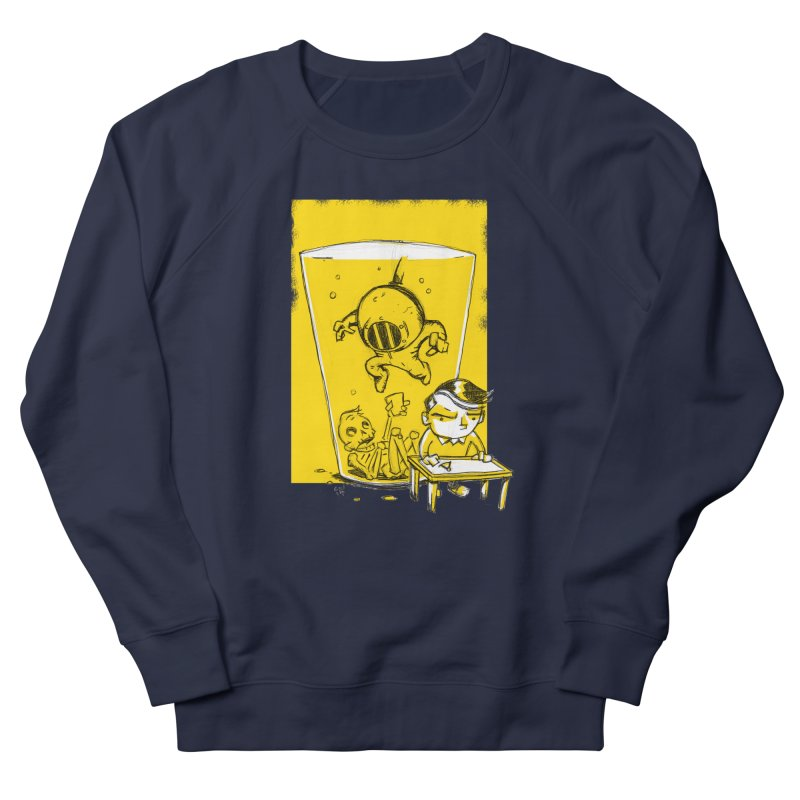Beer Diver Men's French Terry Sweatshirt by Chris Williams' Artist Shop