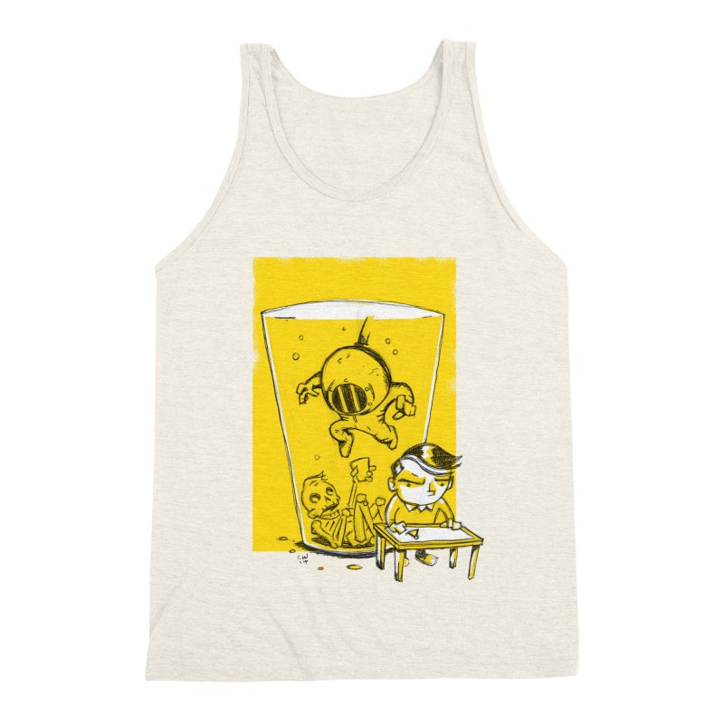 Beer Diver Men's Triblend Tank by Chris Williams' Artist Shop