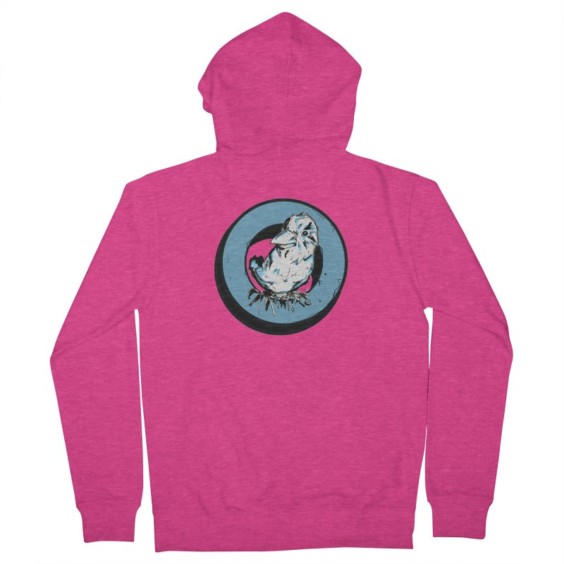 Nesting Women's French Terry Zip-Up Hoody by Chris Williams' Artist Shop