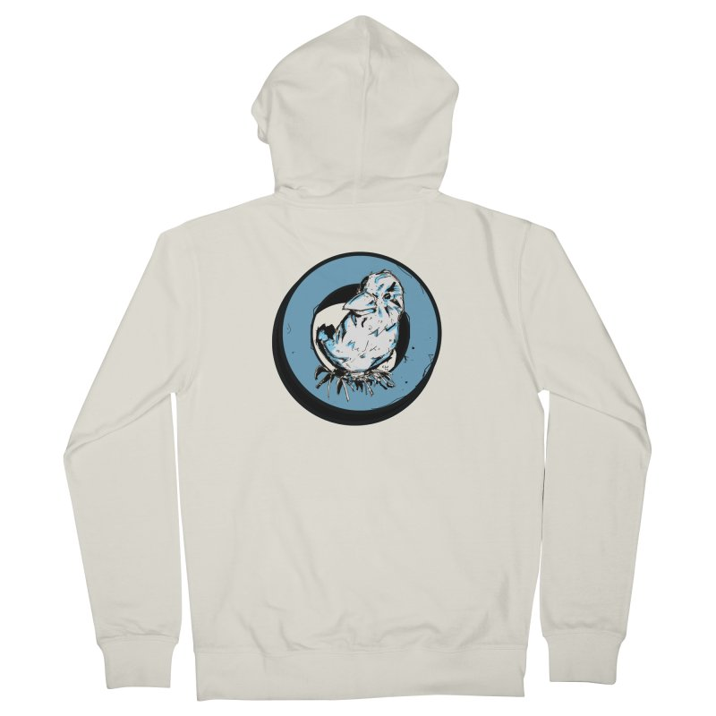 Nesting Men's French Terry Zip-Up Hoody by Chris Williams' Artist Shop