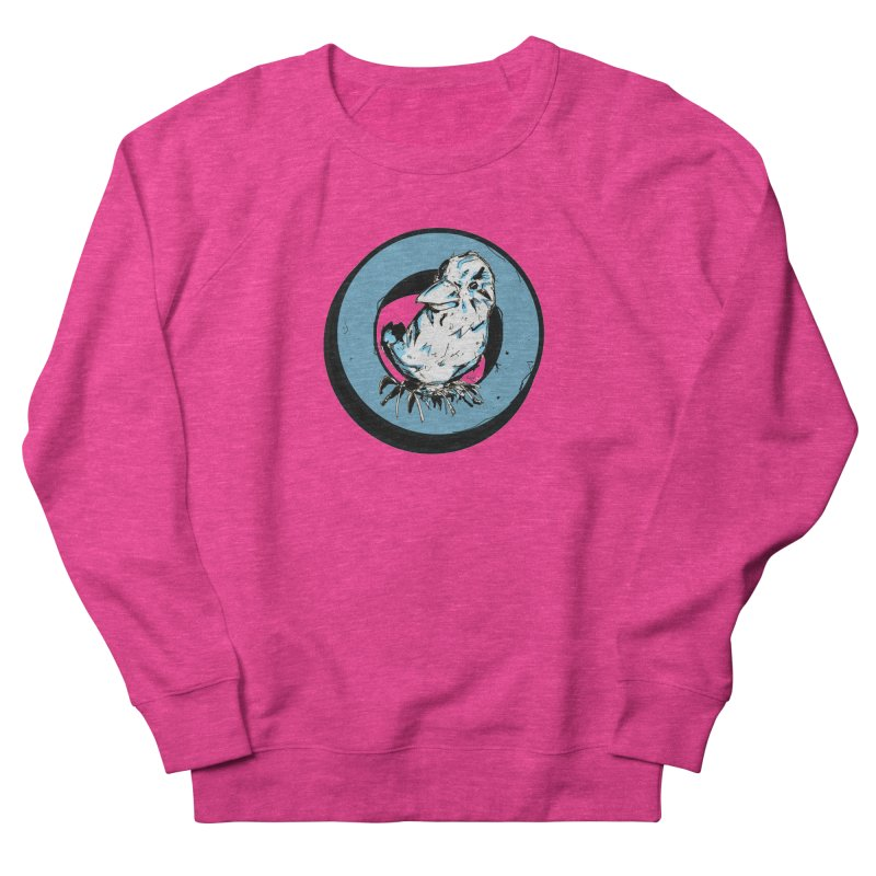 Nesting Women's French Terry Sweatshirt by Chris Williams' Artist Shop