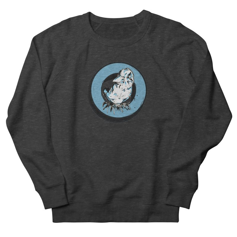 Nesting Men's French Terry Sweatshirt by Chris Williams' Artist Shop
