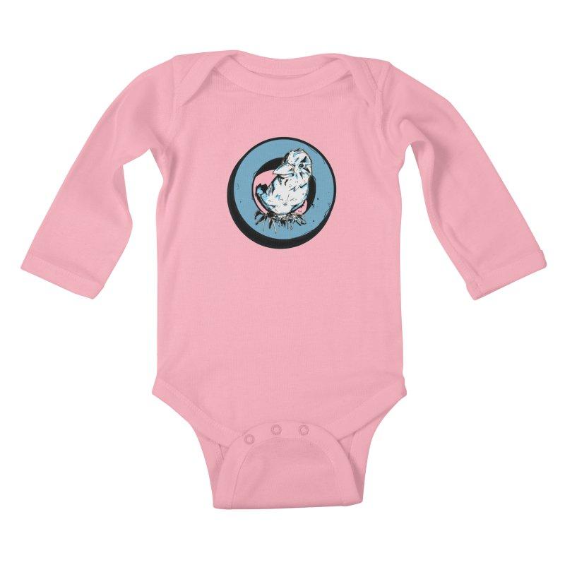 Nesting Kids Baby Longsleeve Bodysuit by Chris Williams' Artist Shop
