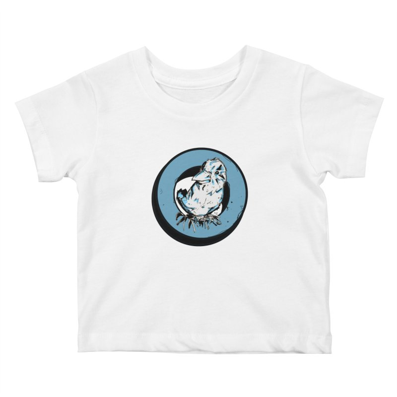Nesting Kids Baby T-Shirt by Chris Williams' Artist Shop