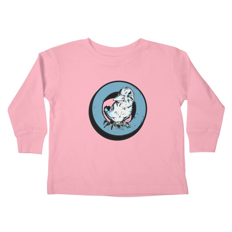 Nesting Kids Toddler Longsleeve T-Shirt by Chris Williams' Artist Shop