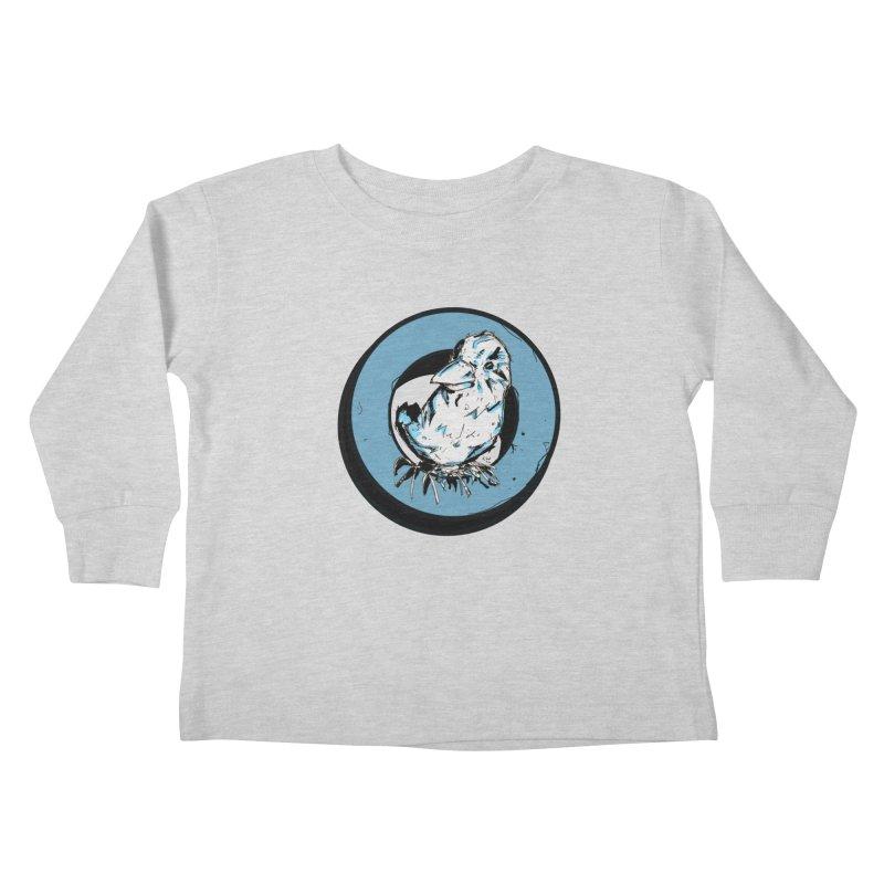 Nesting Kids Toddler Longsleeve T-Shirt by Chris Williams' Artist Shop
