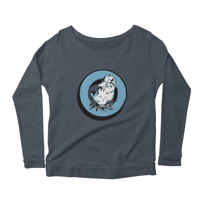 Nesting Women's Scoop Neck Longsleeve T-Shirt by Chris Williams' Artist Shop