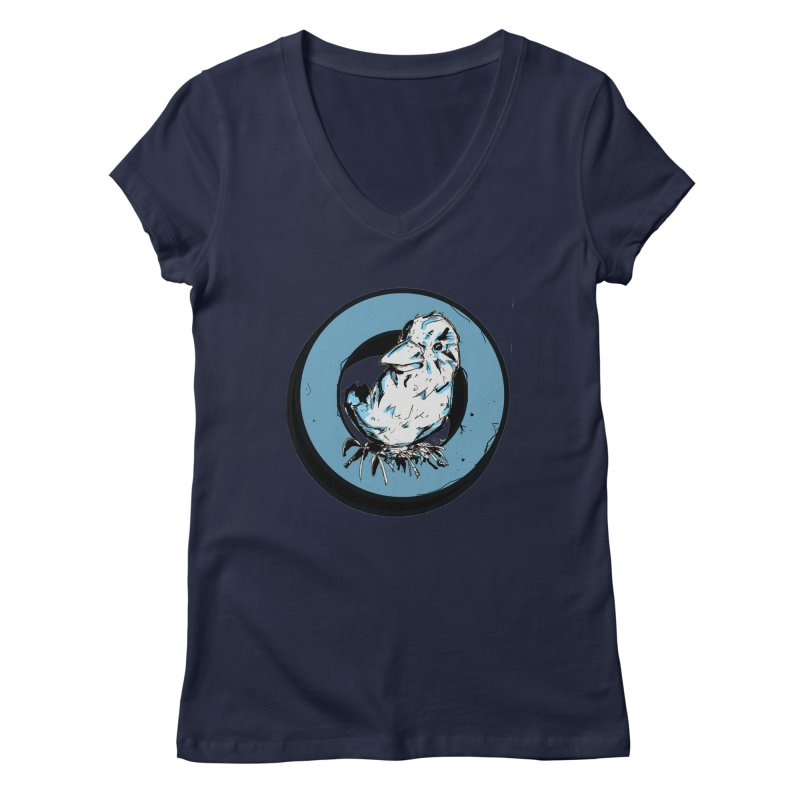 Nesting Women's V-Neck by Chris Williams' Artist Shop