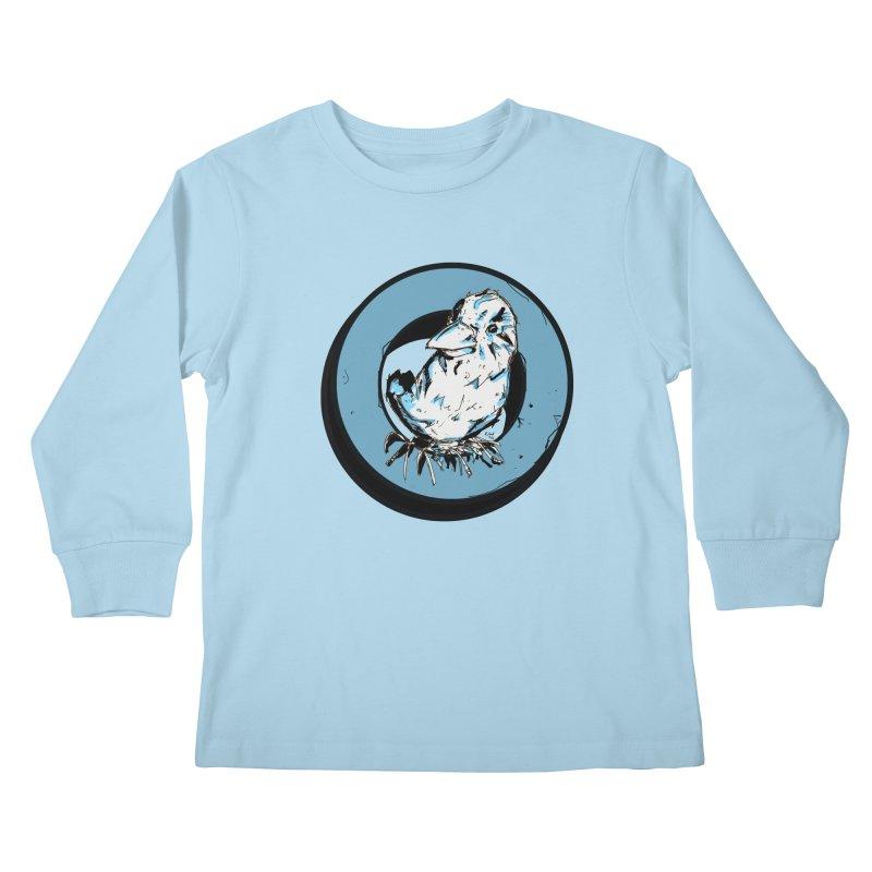 Nesting Kids Longsleeve T-Shirt by Chris Williams' Artist Shop