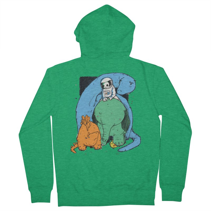 BFFs Women's French Terry Zip-Up Hoody by Chris Williams' Artist Shop
