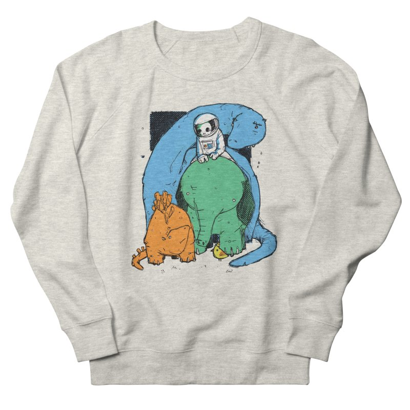 BFFs Women's French Terry Sweatshirt by Chris Williams' Artist Shop