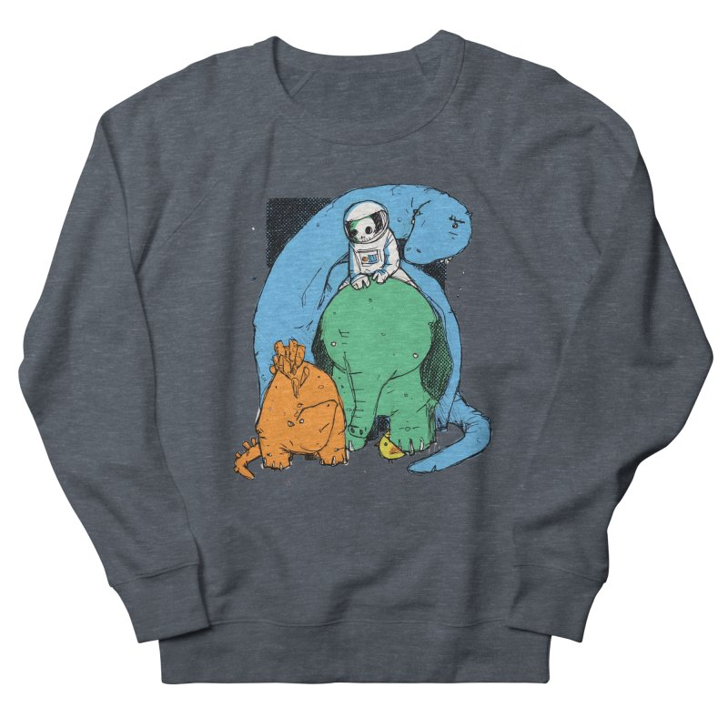 BFFs Men's French Terry Sweatshirt by Chris Williams' Artist Shop