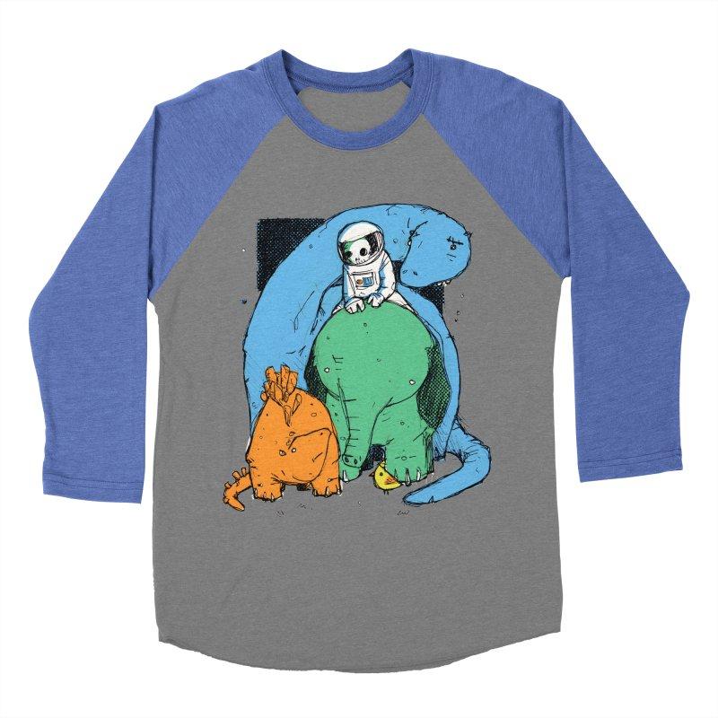 BFFs Men's Baseball Triblend T-Shirt by Chris Williams' Artist Shop