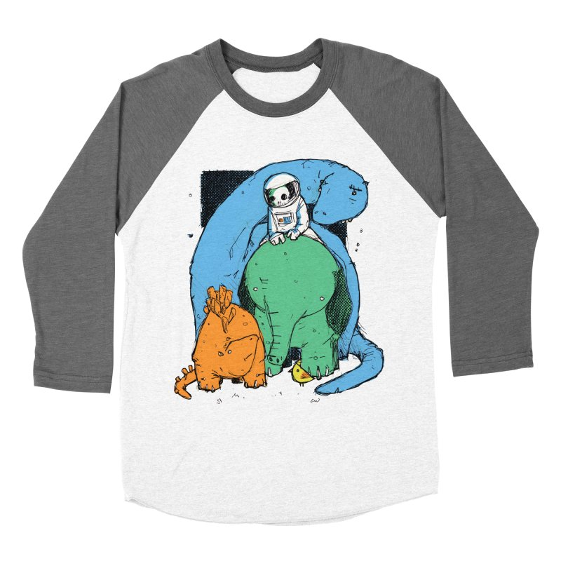 BFFs Men's Baseball Triblend Longsleeve T-Shirt by Chris Williams' Artist Shop