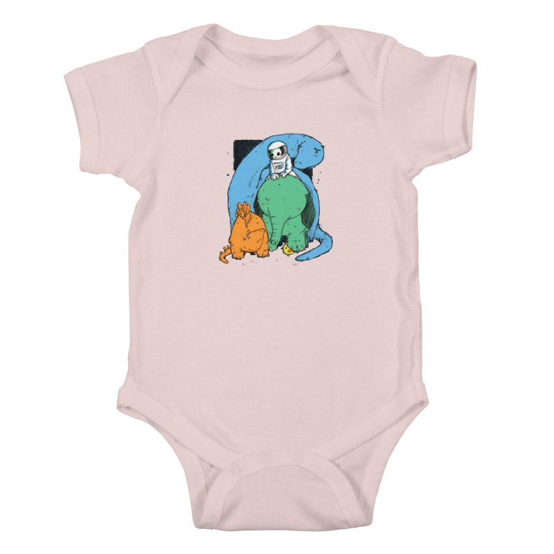 BFFs Kids Baby Bodysuit by Chris Williams' Artist Shop