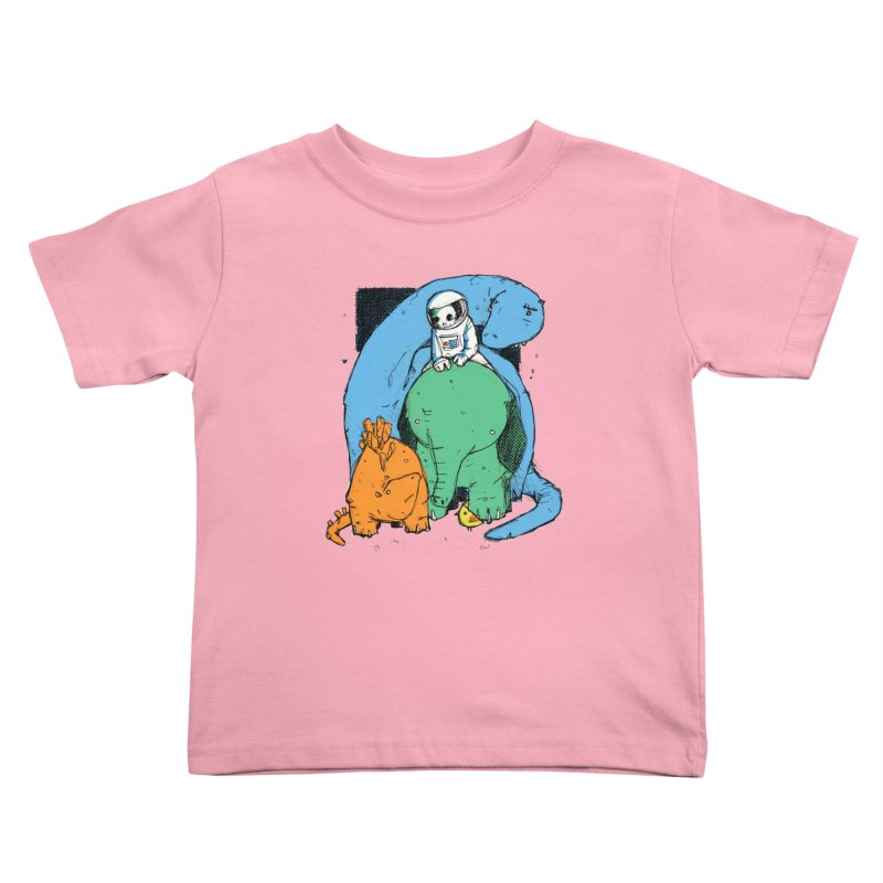 BFFs Kids Toddler T-Shirt by Chris Williams' Artist Shop