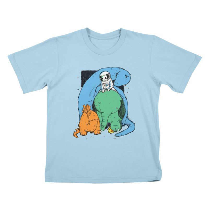 BFFs Kids T-Shirt by Chris Williams' Artist Shop