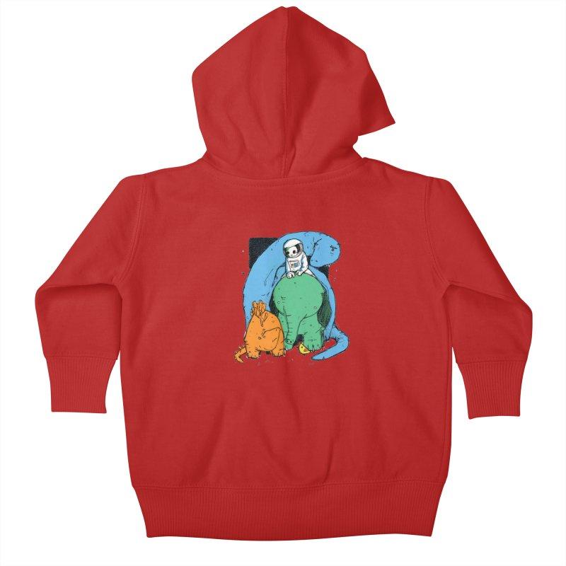 BFFs Kids Baby Zip-Up Hoody by Chris Williams' Artist Shop