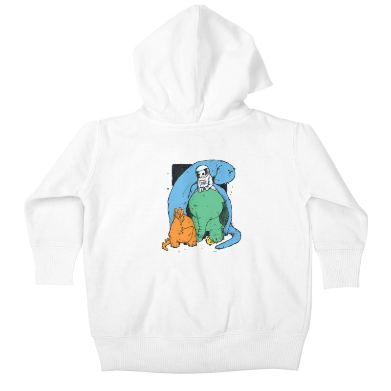 BFFs Kids Baby Zip-Up Hoody by Chris Williams' Artist Shop