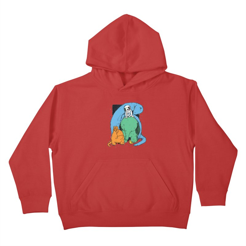 BFFs Kids Pullover Hoody by Chris Williams' Artist Shop