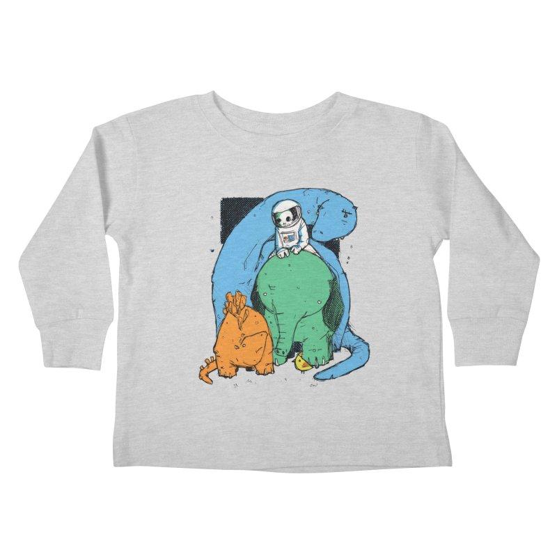 BFFs Kids Toddler Longsleeve T-Shirt by Chris Williams' Artist Shop