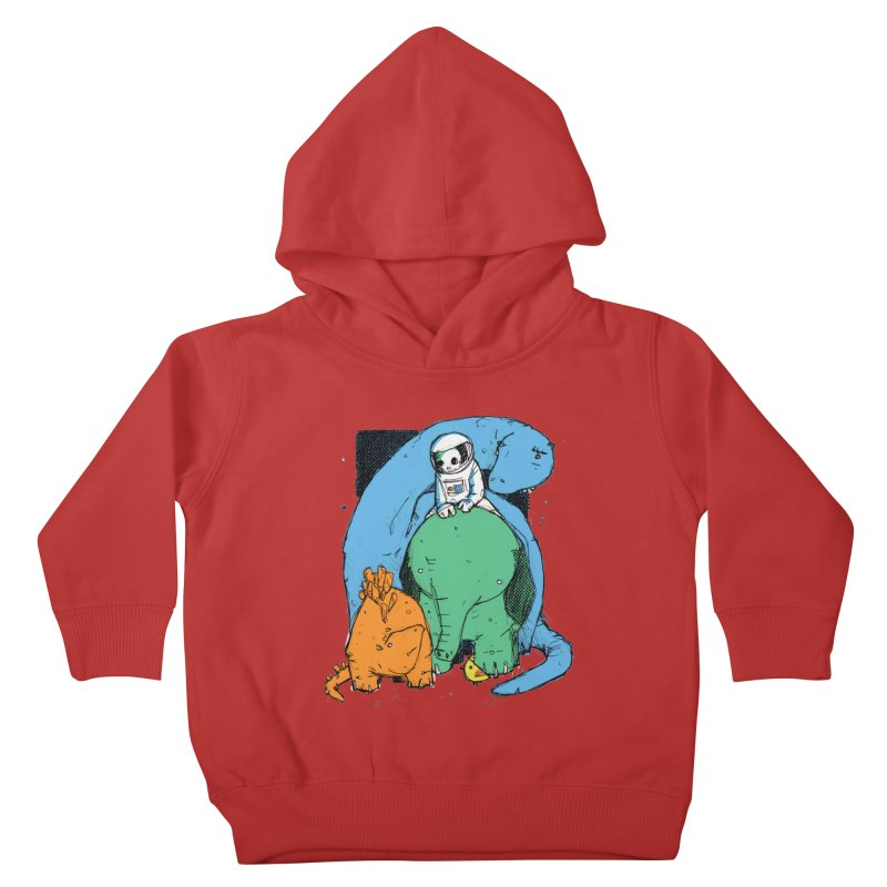 BFFs Kids Toddler Pullover Hoody by Chris Williams' Artist Shop