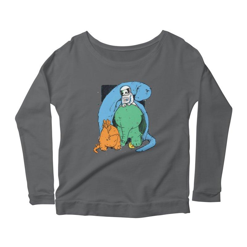 BFFs Women's Scoop Neck Longsleeve T-Shirt by Chris Williams' Artist Shop