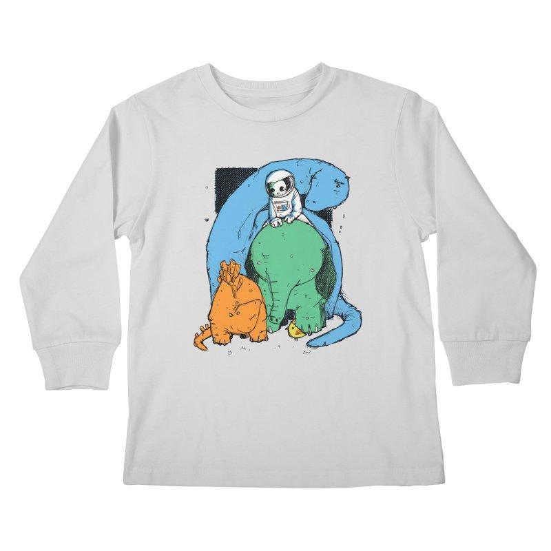 BFFs Kids Longsleeve T-Shirt by Chris Williams' Artist Shop
