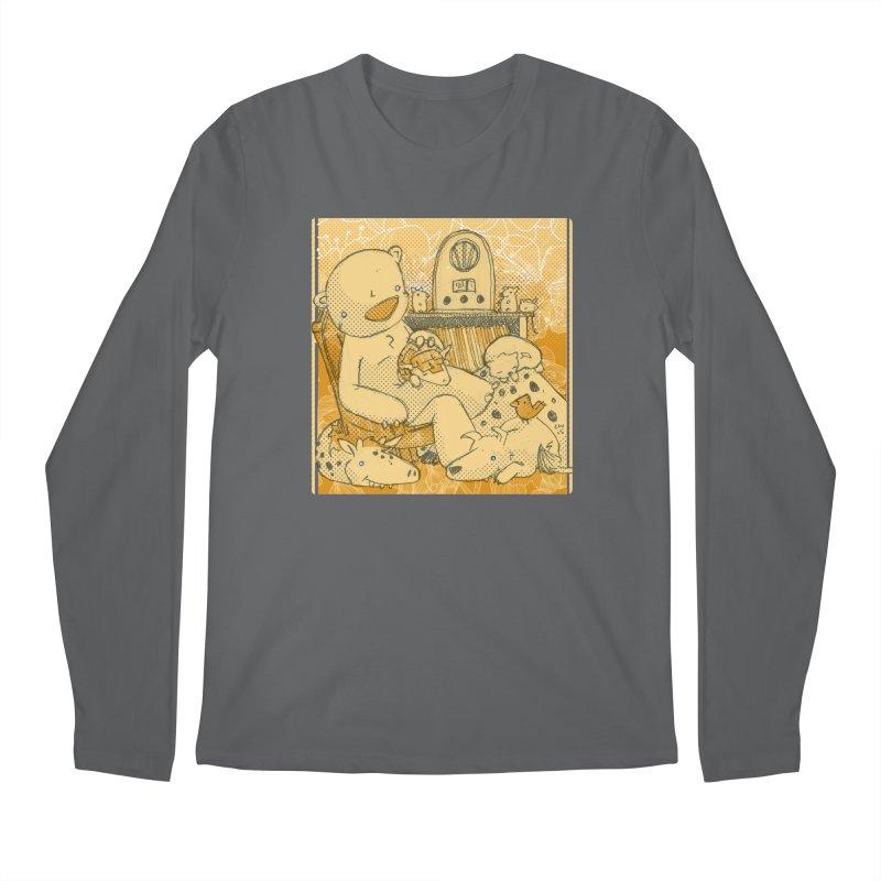 Family Radio Hour Men's Longsleeve T-Shirt by Chris Williams' Artist Shop
