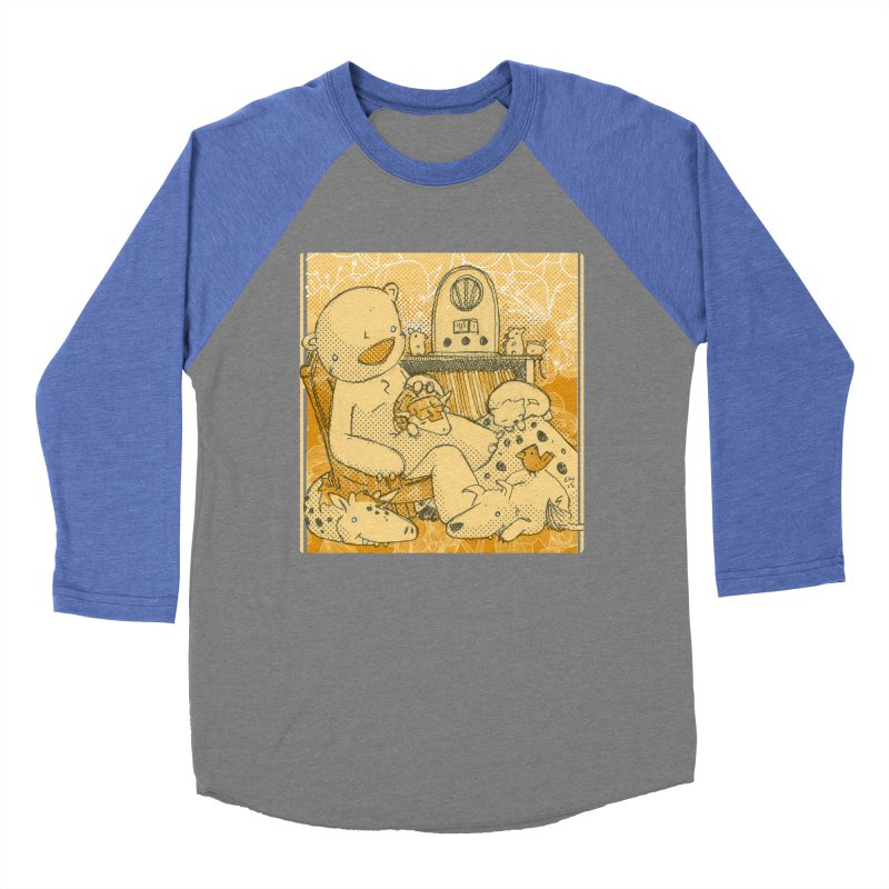 Family Radio Hour Men's Baseball Triblend Longsleeve T-Shirt by Chris Williams' Artist Shop