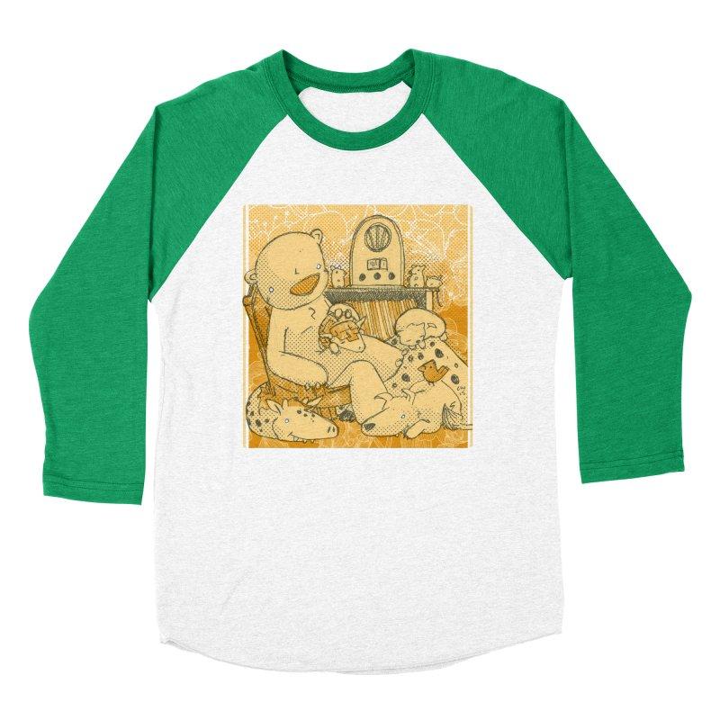Family Radio Hour Men's Baseball Triblend Longsleeve T-Shirt by Chris Williams' Artist Shop