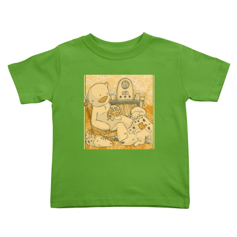 Family Radio Hour Kids Toddler T-Shirt by Chris Williams' Artist Shop