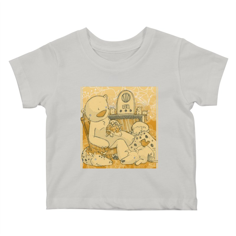 Family Radio Hour Kids Baby T-Shirt by Chris Williams' Artist Shop