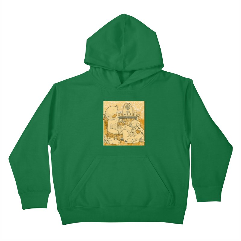 Family Radio Hour Kids Pullover Hoody by Chris Williams' Artist Shop