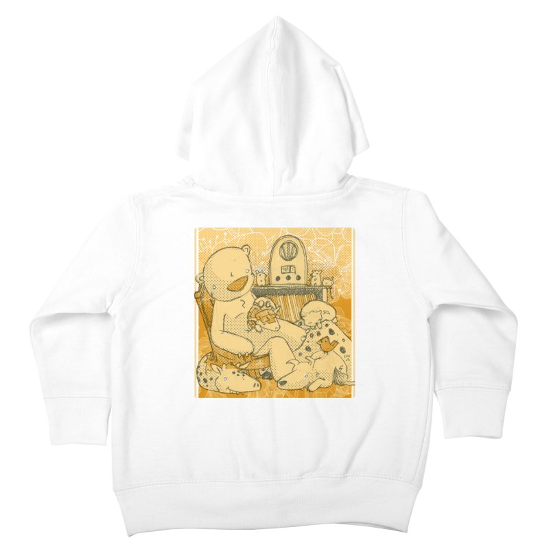 Family Radio Hour Kids Toddler Zip-Up Hoody by Chris Williams' Artist Shop