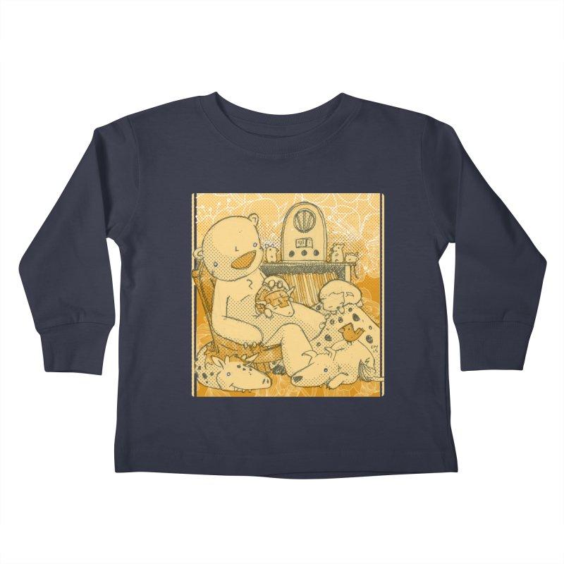 Family Radio Hour Kids Toddler Longsleeve T-Shirt by Chris Williams' Artist Shop