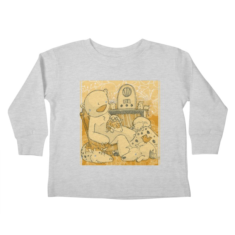 Family Radio Hour Kids Toddler Longsleeve T-Shirt by Chris Williams' Artist Shop