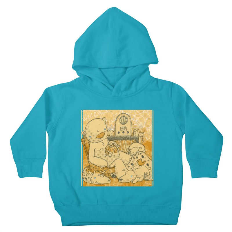 Family Radio Hour Kids Toddler Pullover Hoody by Chris Williams' Artist Shop