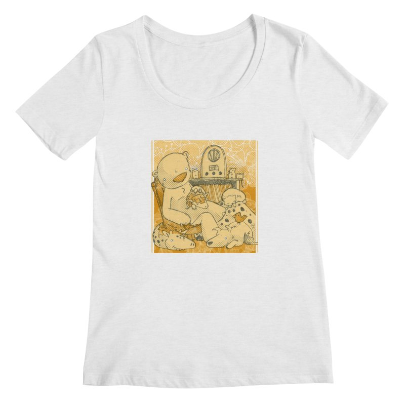 Family Radio Hour Women's Regular Scoop Neck by Chris Williams' Artist Shop