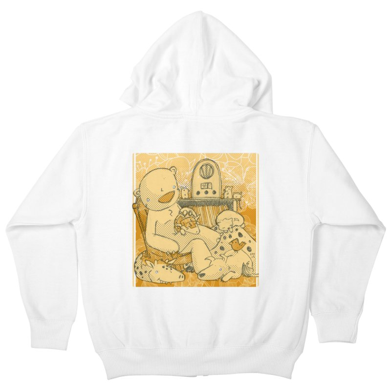 Family Radio Hour Kids Zip-Up Hoody by Chris Williams' Artist Shop