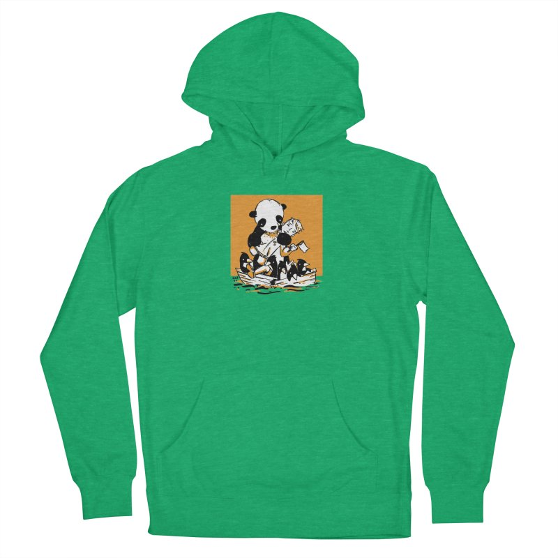 Gonna Need a Bigger Boat Men's French Terry Pullover Hoody by Chris Williams' Artist Shop
