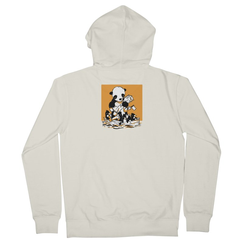 Gonna Need a Bigger Boat Women's French Terry Zip-Up Hoody by Chris Williams' Artist Shop