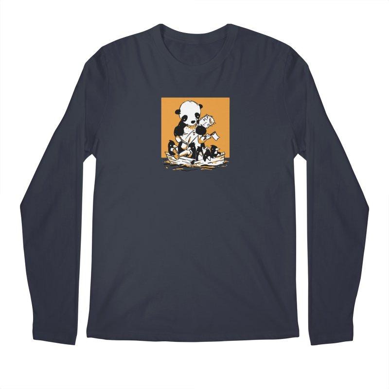 Gonna Need a Bigger Boat Men's Regular Longsleeve T-Shirt by Chris Williams' Artist Shop