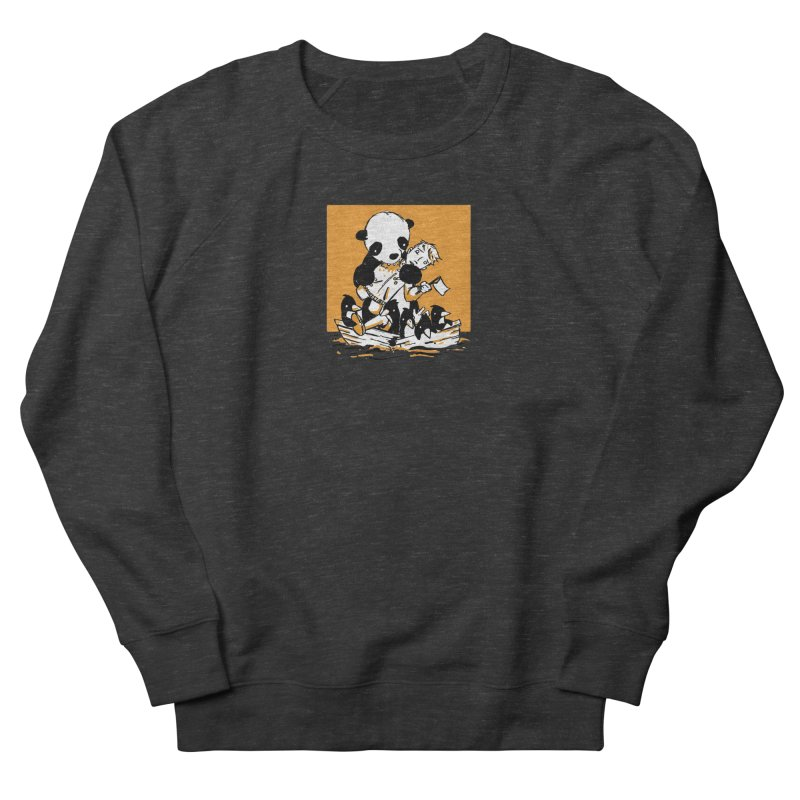 Gonna Need a Bigger Boat Men's French Terry Sweatshirt by Chris Williams' Artist Shop