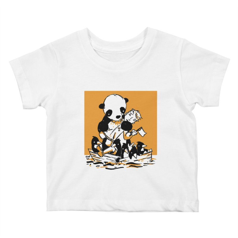 Gonna Need a Bigger Boat Kids Baby T-Shirt by Chris Williams' Artist Shop