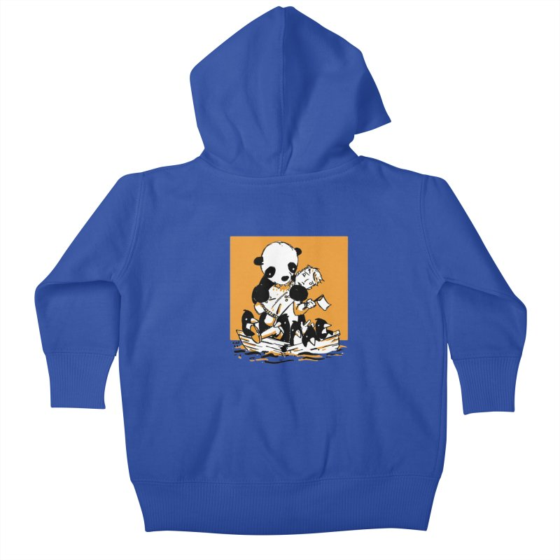 Gonna Need a Bigger Boat Kids Baby Zip-Up Hoody by Chris Williams' Artist Shop