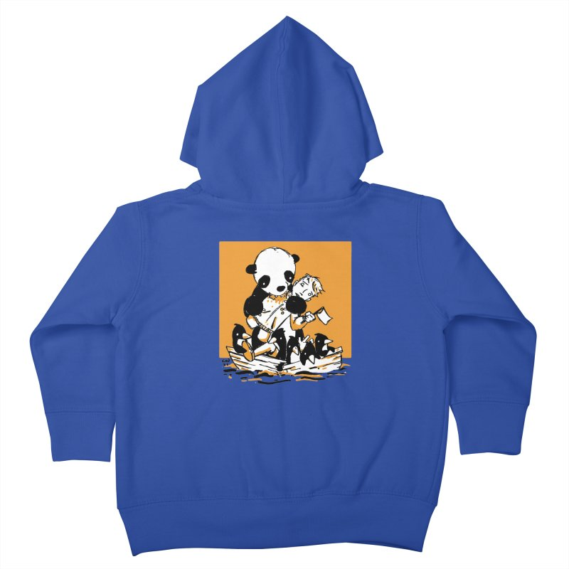 Gonna Need a Bigger Boat Kids Toddler Zip-Up Hoody by Chris Williams' Artist Shop