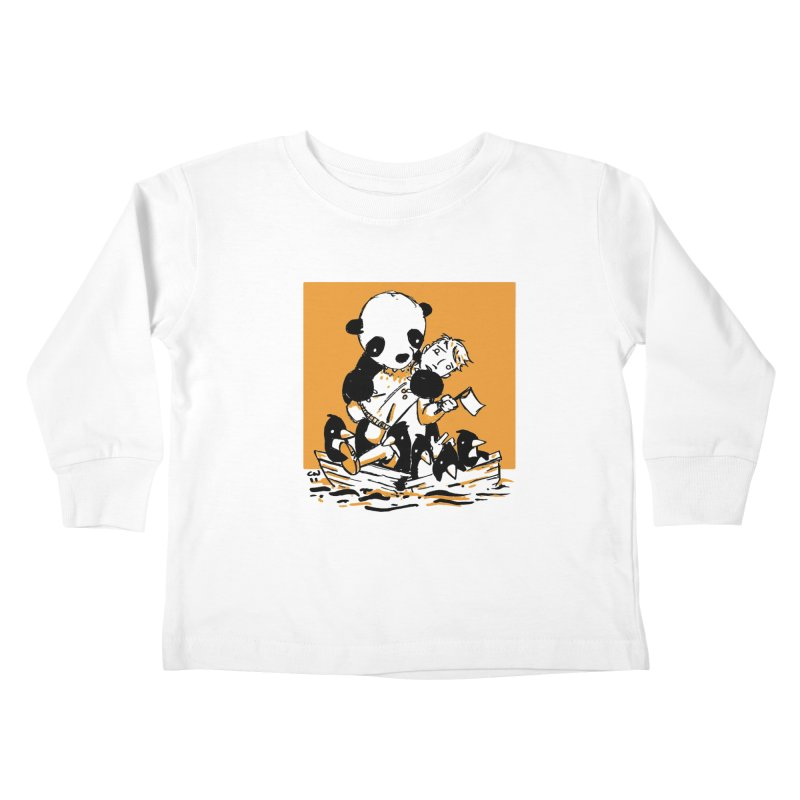Gonna Need a Bigger Boat Kids Toddler Longsleeve T-Shirt by Chris Williams' Artist Shop
