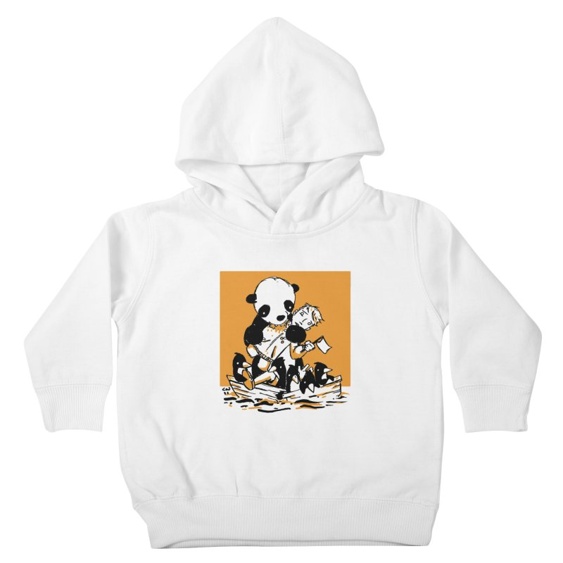 Gonna Need a Bigger Boat Kids Toddler Pullover Hoody by Chris Williams' Artist Shop